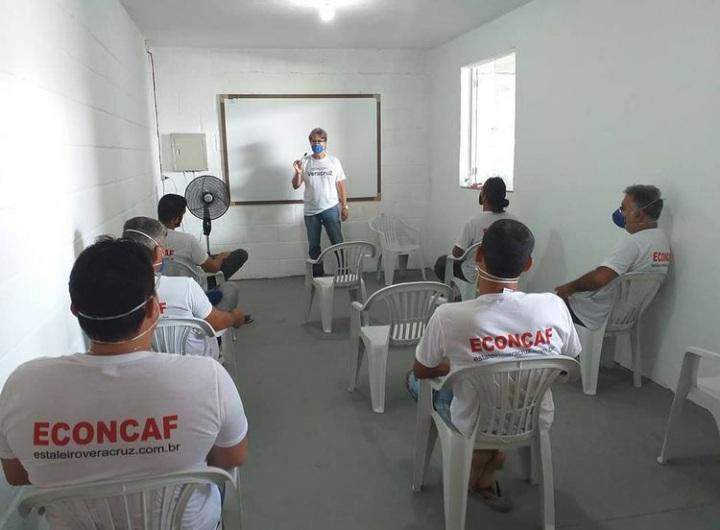 eCONCAF Escola de construção náutica de Cabo Frio